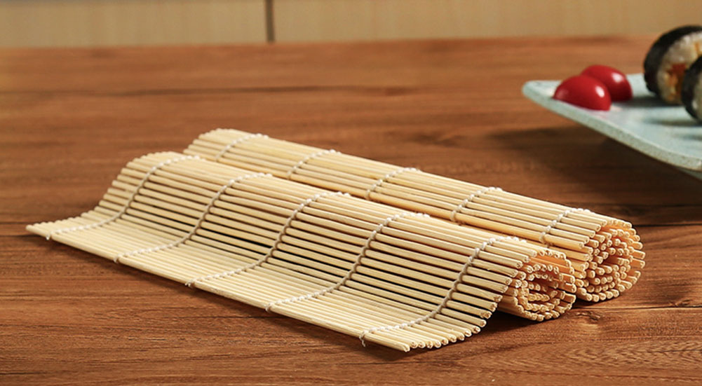 bamboo mat for sushi rolls