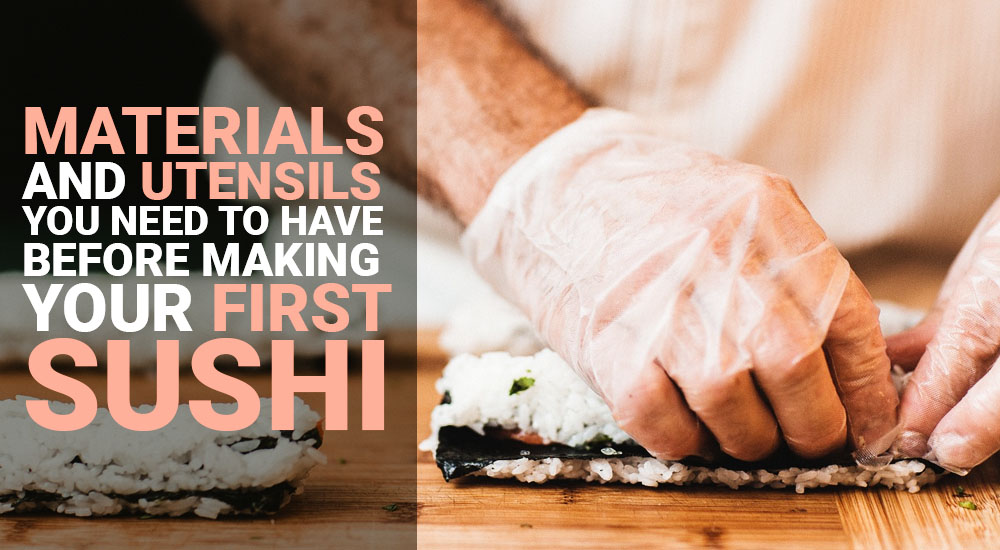sushi set for beginners